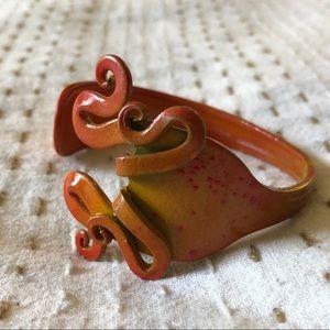 Handmade OOAK artisan fork bracelet